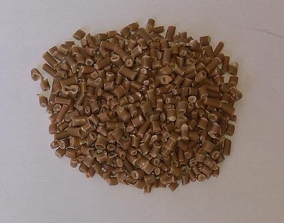 Hạt PP vàng tái chế từ bao cẩu